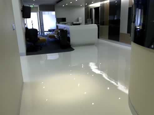 White Stained Concrete Floors Google Search