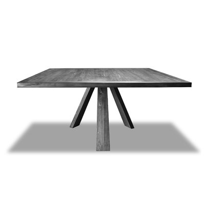 Foundstone Bradford Solid Wood Dining Table Dining Table Square Dining Tables Solid Wood Dining Table