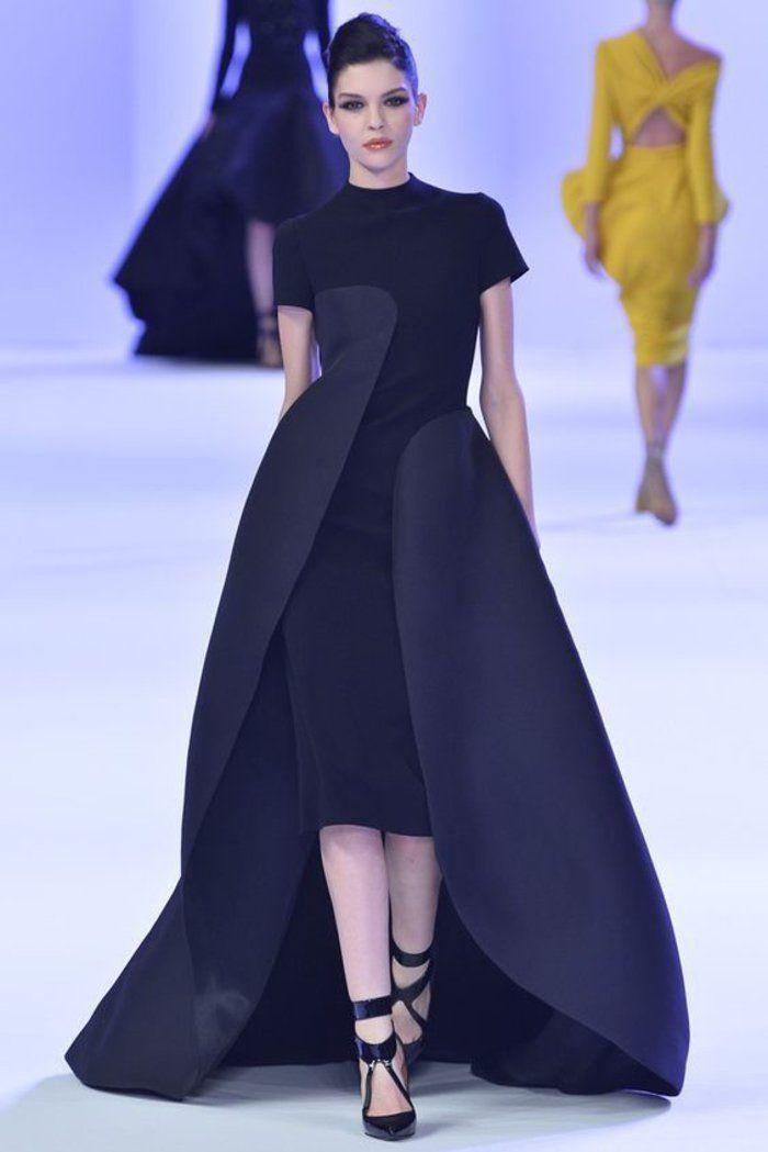 ein paar tolle ideen wie sie ein schwarzes kleid kombinieren elegant evening prom schwarzes