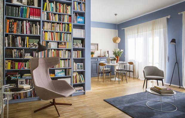 Come illuminare una stanza buia con il colore azzurro homedesign
