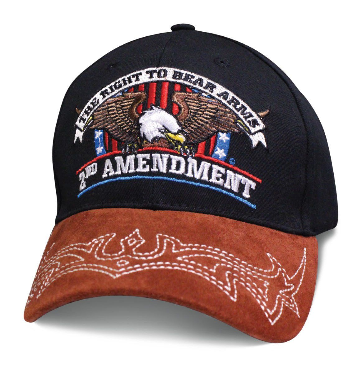 a469d33a5 Mens Patriotic Hat THE RIGHT TO BEAR ARMS 2ND AMENDMENT with Eagle ...