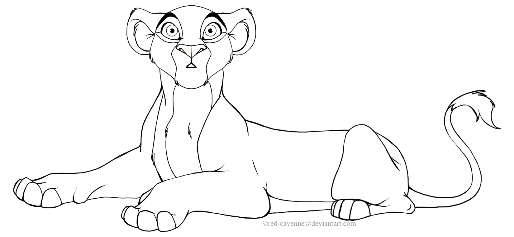 Lion king lioness base lion king mother and cubs base for Lioness coloring pages