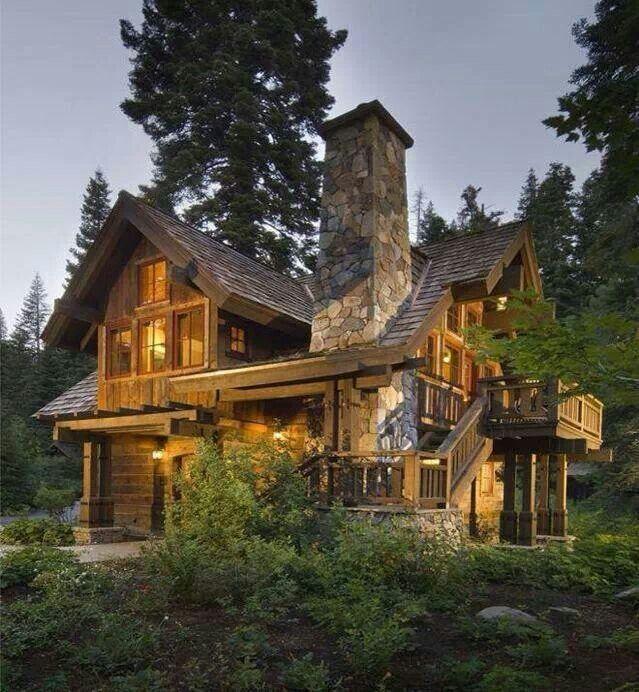 Rustic Home, Casa Rústica, Casa De Campo, Casa De Madeira