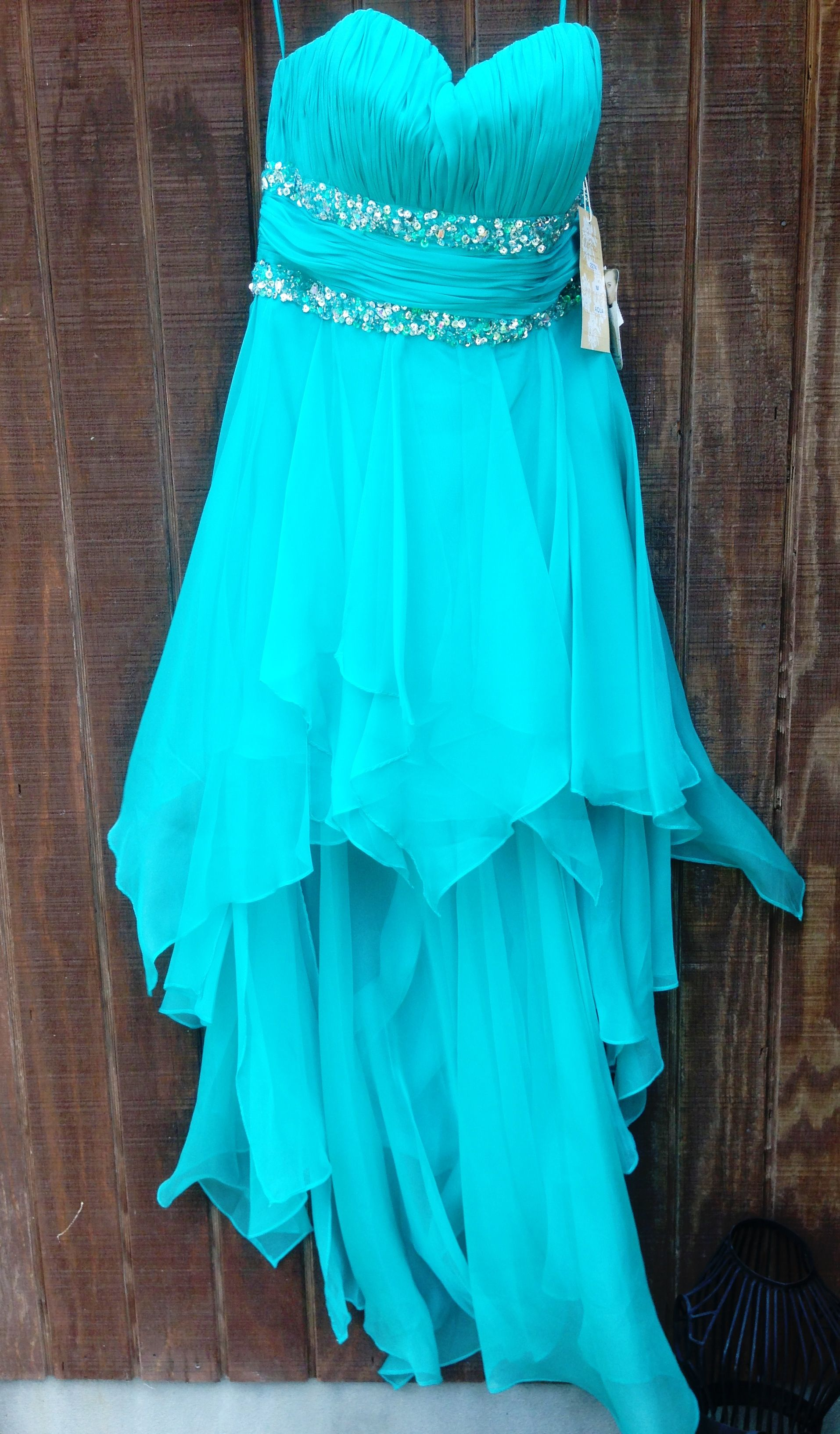 High low homecoming sweethearts semi formal dress. dazzling dress ...