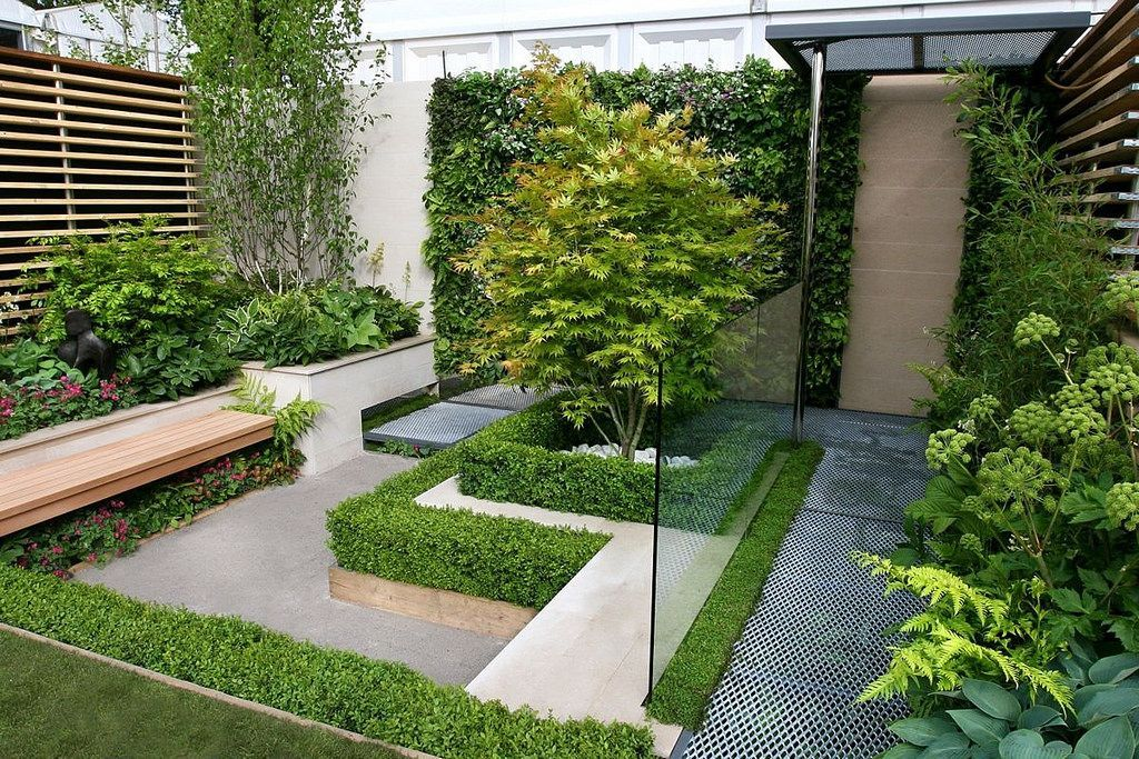 Small Modern Garden Idea Minimalist Garden Garden Design Home
