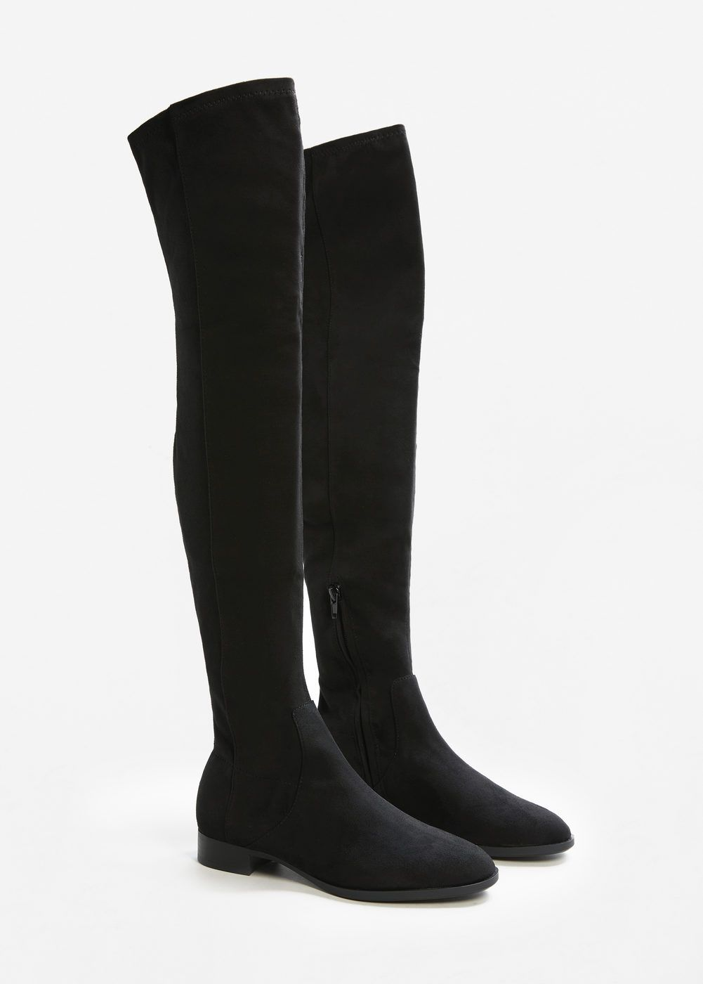 2b89d331f78 Flat over-the-knee boots - f foBoots and booties Women