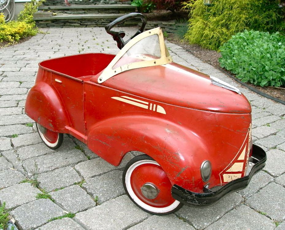 1930 S 1940 S Garton Gendron Ford Pedal Car Pressed Steel
