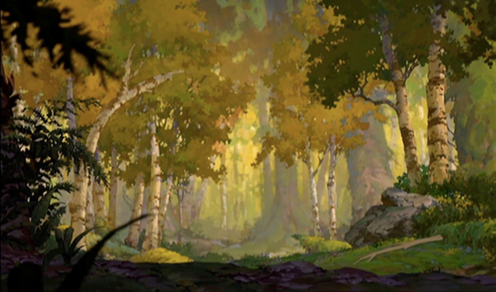Animation Backgrounds BROTHER BEAR