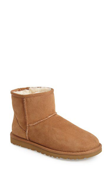 Size 6 Chestnut UGG® Australia UGG® Australia Classic Mini Boot (Women) available at #Nordstrom