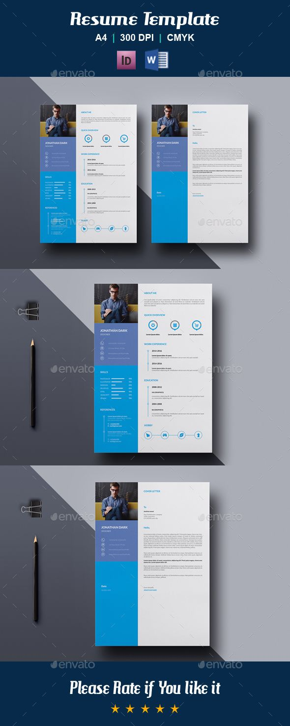 Resume Template V  Template Simple Resume And Cv Template