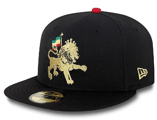 fffa3409a4168 Rasta Lion 59Fifty Fitted Cap by NEW ERA