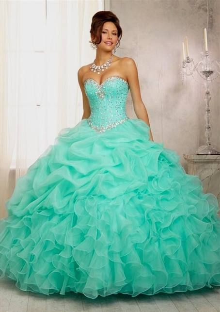 952b6ef4f2 mint green with silver quinceanera dresses 2017 » MyDresses Reviews 2017