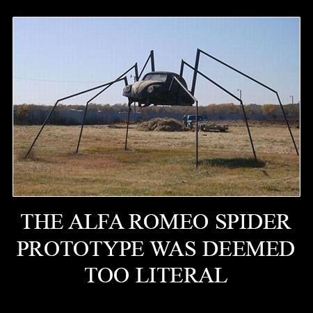 The Alfa Romeo Spider Prototype Was Deemed Too Literal Alfaromeo