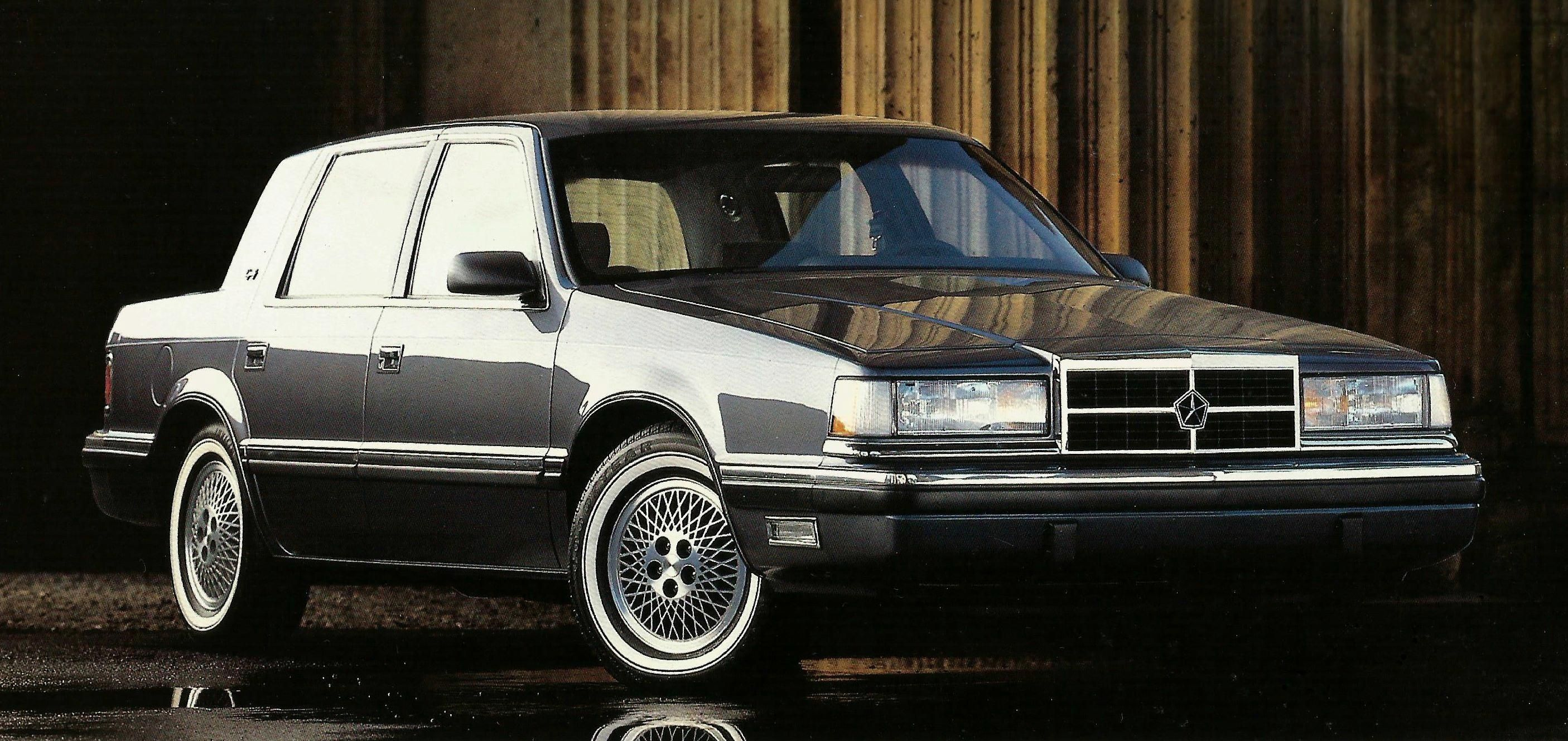 The 1989 Dodge Dynasty Chrysler Cars Dodge Car And Motorcycle Design