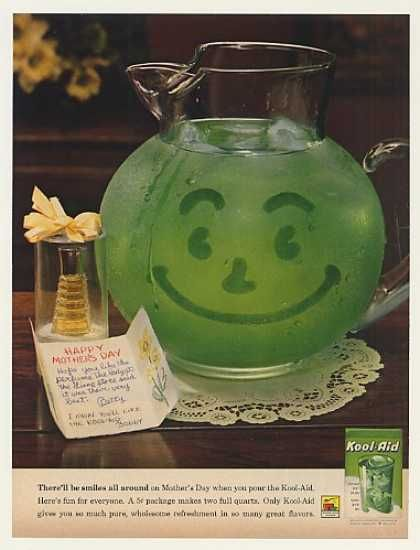 Vintage Drinks Advertisements Of The 1960s Page 12 Kool Aid Vintage Ads Vintage Advertisements