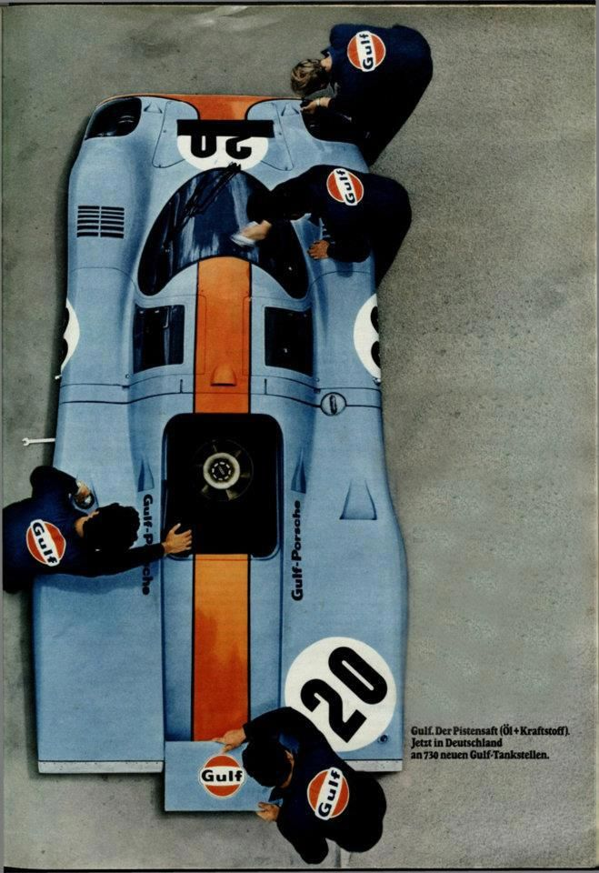 Porsche & Gulf - a legendary partnership