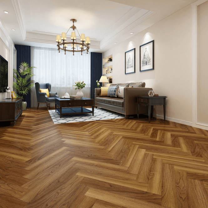 Emperor 12mm Laminate Flooring Walnut Herringbone Oak In 2020