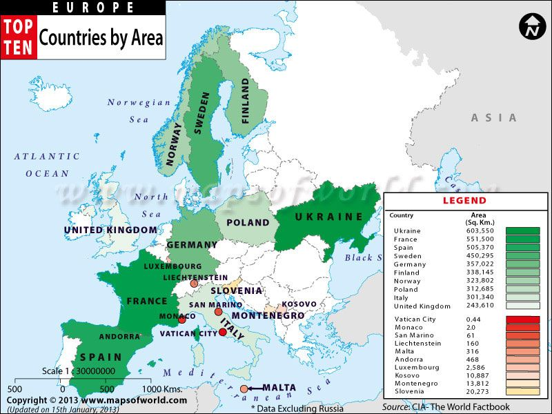 Maps of european countries by area travel pinterest european maps of european countries by area gumiabroncs Image collections