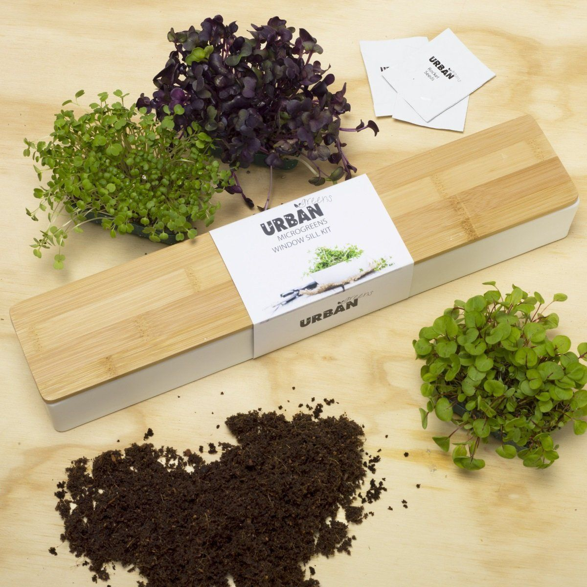 Urban Greens Microgreens Windowsill Grow Kit in 2020