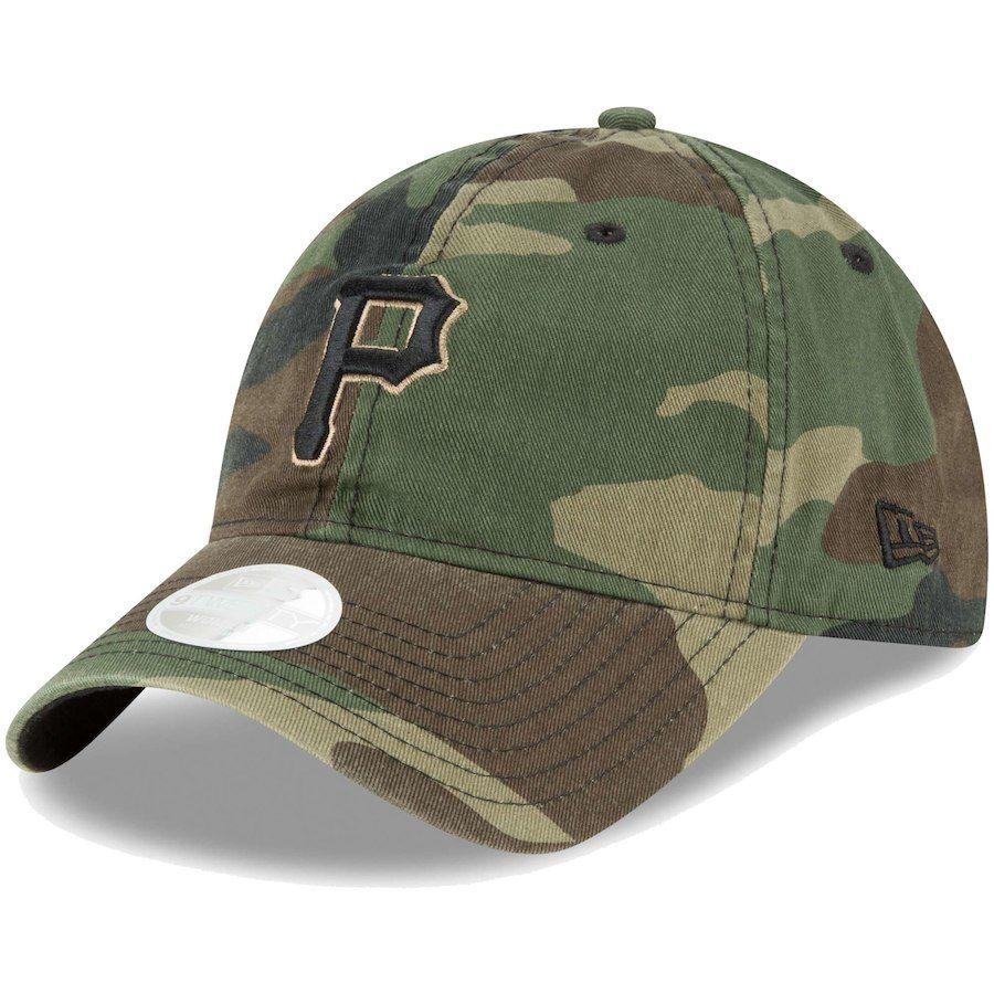 reputable site 26028 59b07 Women s Pittsburgh Pirates New Era Camo Core Classic Twill 9TWENTY  Adjustable Hat,  19.99