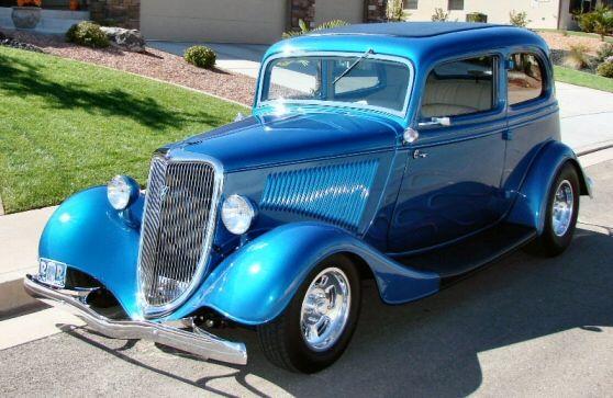 1934 Ford Vicky 2-Door Sedan Street Rod | Hot rods | Cars