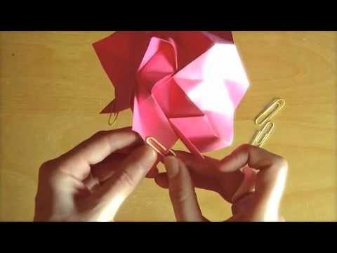 Origami rose tutorial part 2 origami pinterest origami origami rose tutorial part 2 mightylinksfo