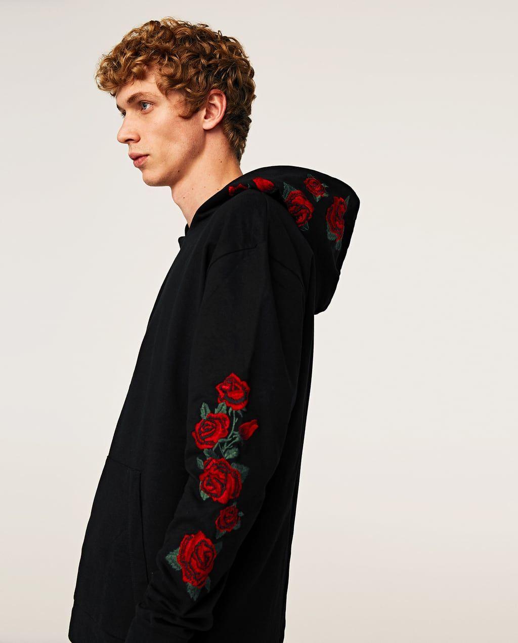 Zara 3 En Rosas Imagen Hoodies Sweats amp; Sudadera De 2018 AI7wwxq1