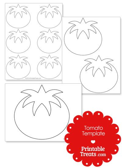 printable tomato shape template elise s 1st birthday preschool