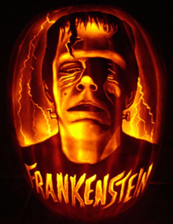 Frankenstein pumpkin carving bookish pinterest frankenstein pumpkin pumpkin carving and for Frankenstein pumpkin pattern