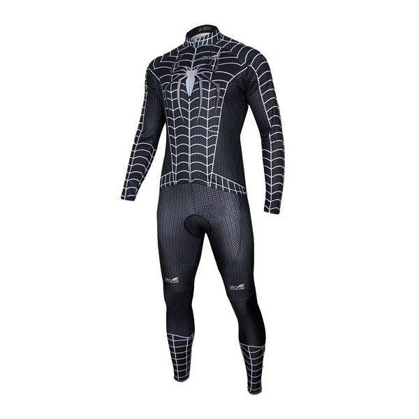 9582a7ad13 Cycling clothing Cycling clothing Cycling clothing Cheap 2012 Mens cycling  long suits-Spiderman black