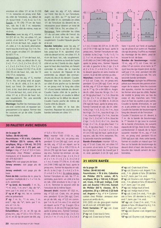 Fait Main HS Tricot № 28 2012 - Страна рукоделия