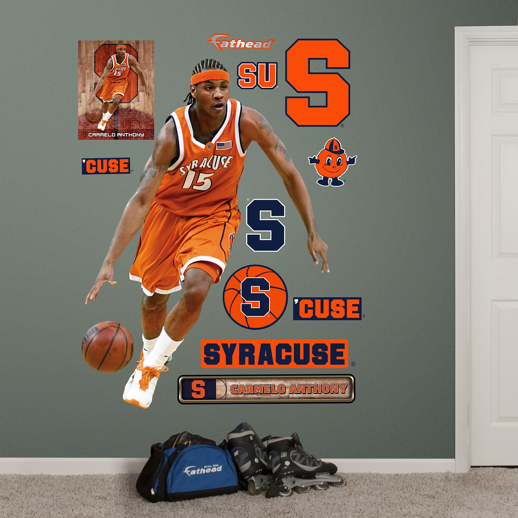 643cf497ae9 Carmelo Anthony, Syracuse Orange | Syracuse | Syracuse orangemen ...