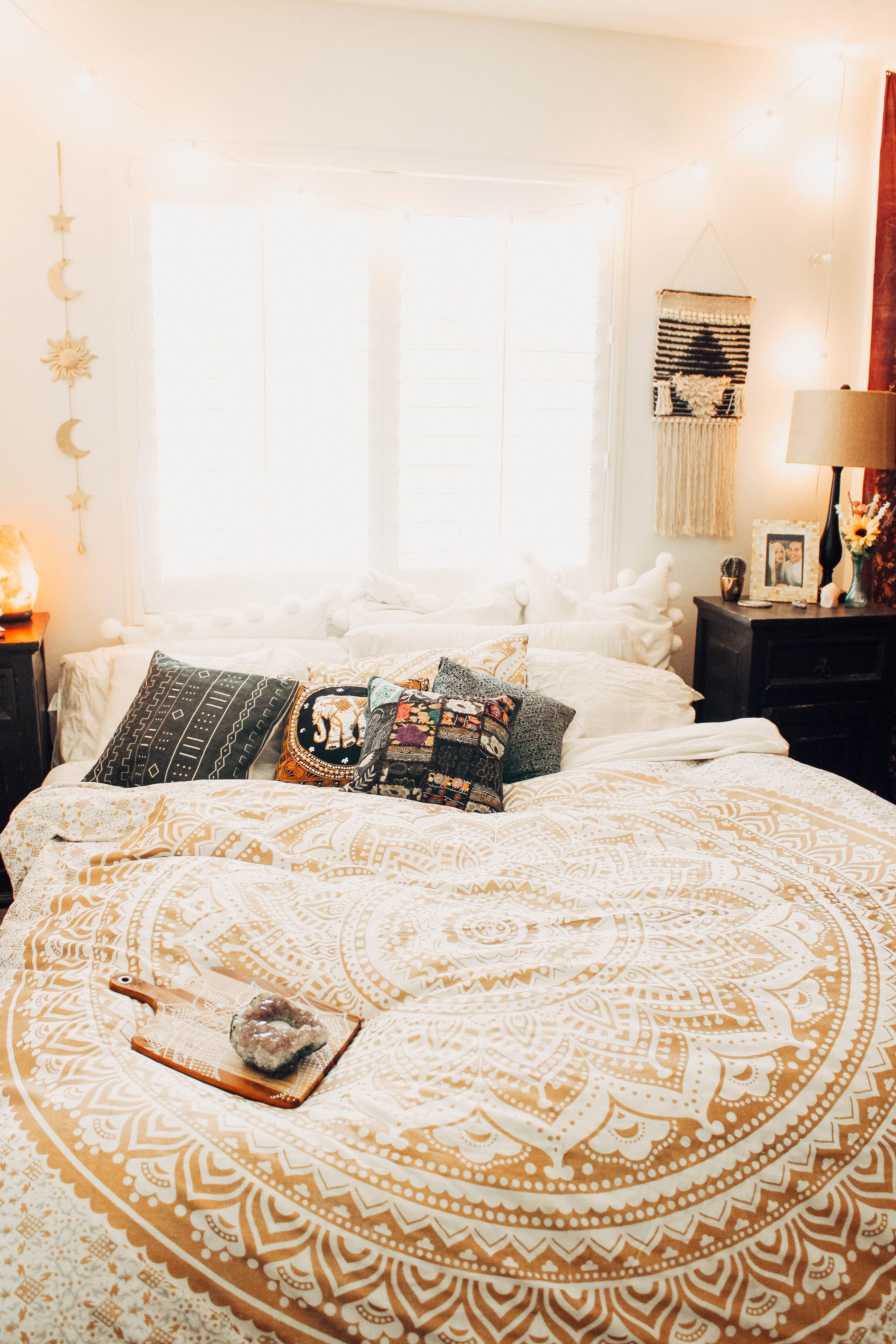 Celestial Wall Hanging | Lady Scorpio ♏ | Bedroom decor, Bohemian ...