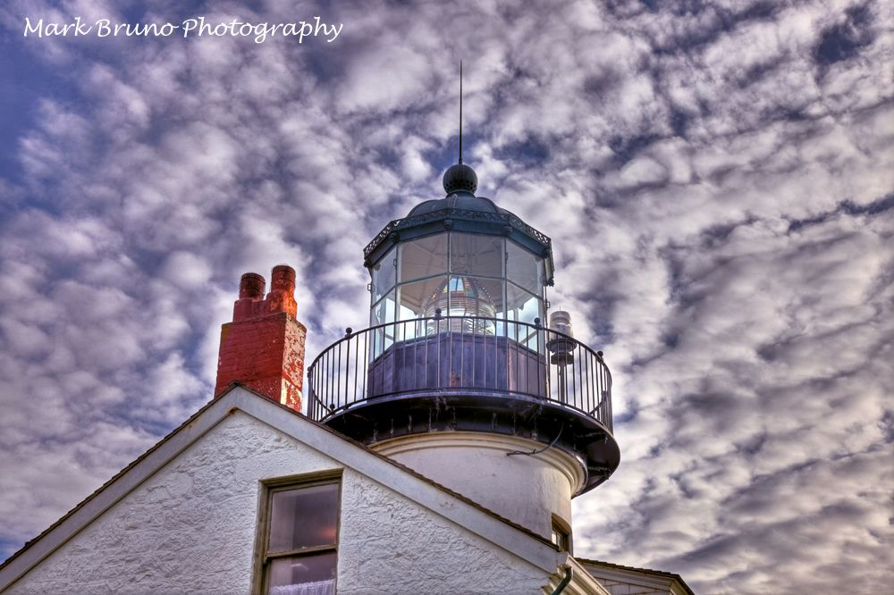 Point Pinos Lighthouse in Pacific Grove, CA 93950 - Photography by Mark Bruno Photography.