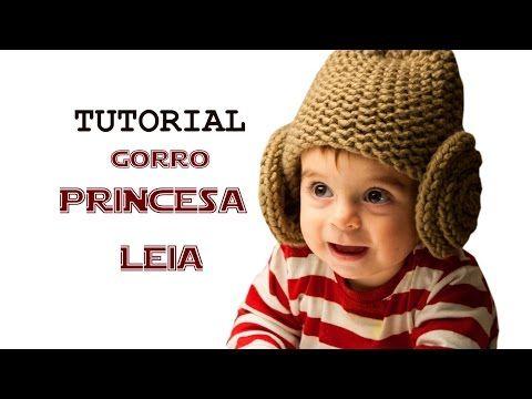 Cómo tejer un gorro de princesa Leia de Star Wars con telar ...