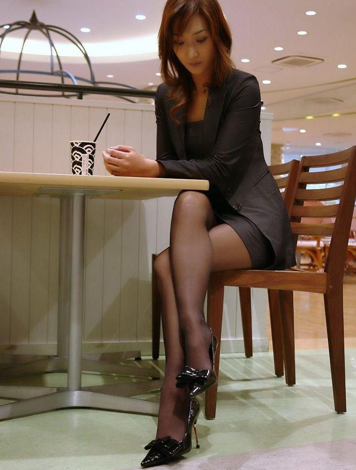 Japanese asian pantyhose women