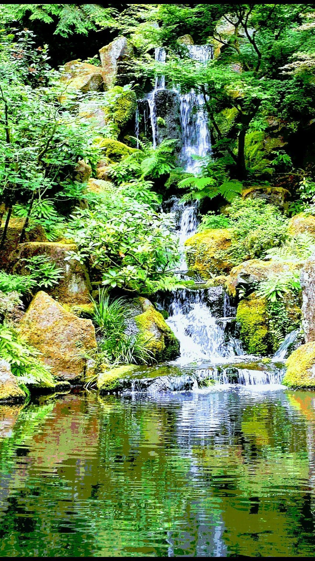 The beautiful Japanese Gardens in Portland Oregon