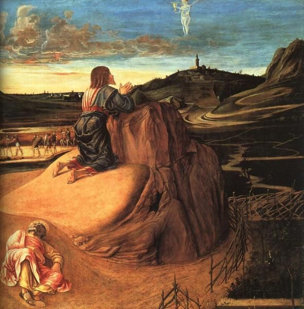 the agony in the garden giovanni bellini 1459 - Agony In The Garden