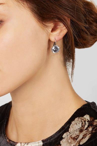 Cubic Zirconia silver earrings Bottega Veneta iHJZk