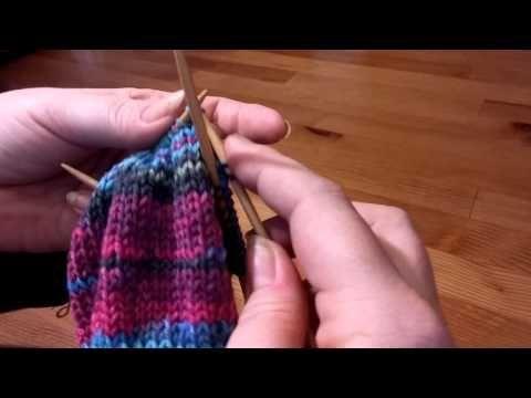 Meine Bumerangferse Ohne Loch Teil 1 Youtube Strickvorlagen