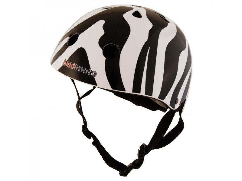 Kiddimoto, Otroška čelada z zebraastim vzrocem