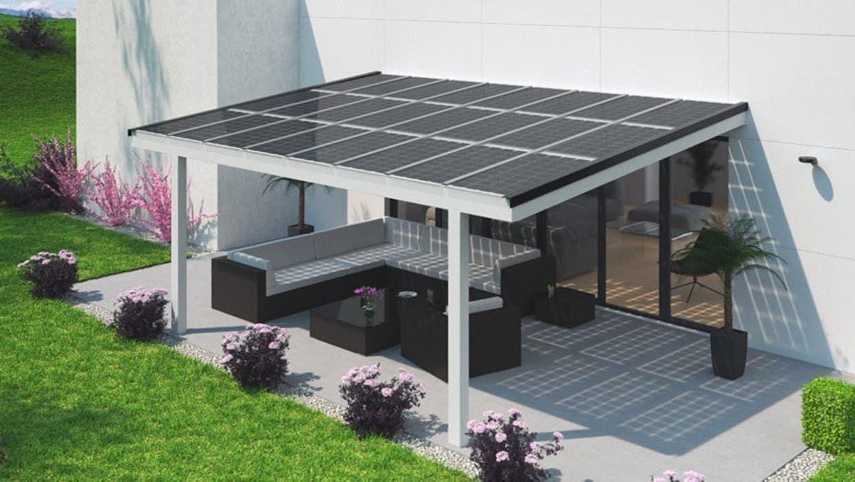 Solarpanel Balkon