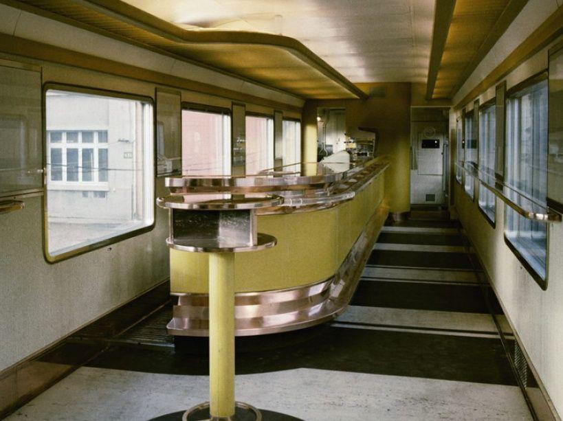 Le bar du train Mistral, SNCF, France
