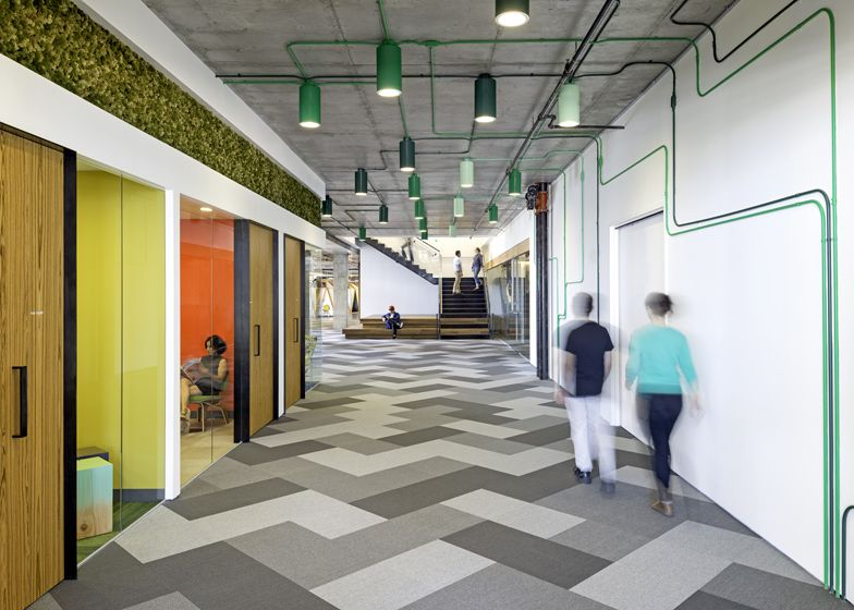cisco offices studio. Perfect Offices Cisco Offices By Studio OA Features Wooden Meeting Pavilions In Offices
