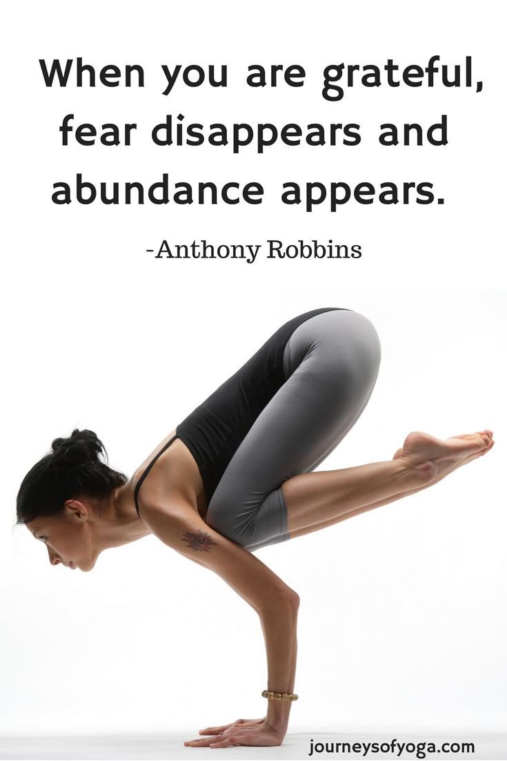 30 Day Gratitude Challenge Week 4 - Journeys of Yoga