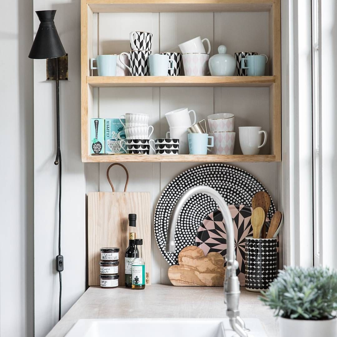 Decorative yet practical! It's time to style the kitchen ...