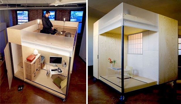 Home Office Design 7 Very Creative Space Savers Spaces, Office