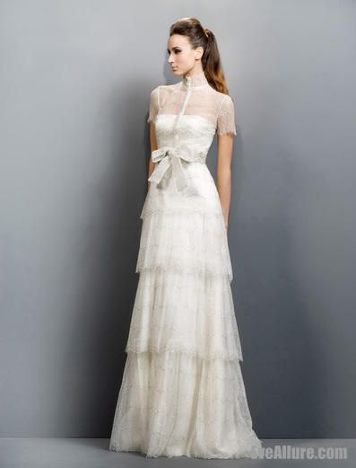 Long Wedding Dress Lace Wedding Dress With Sleeves Dresses Modest Wedding Gowns