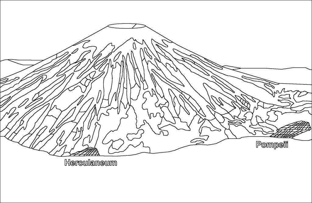 mount vesuvius and pompeii before the eruption
