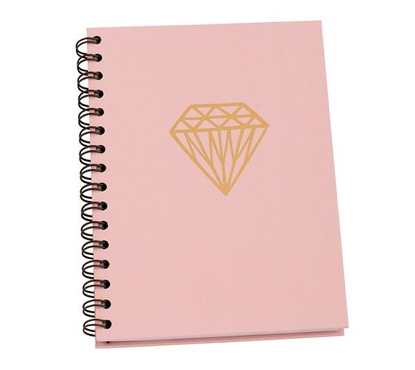 A5 HARD COVER NOTEBOOK: LIVE BRIGHT